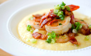 Simple Shrimp and Grits