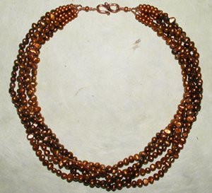Beaded Torsade Necklace