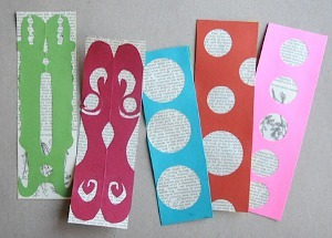 Book Page Bookmarks