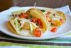 Homemade Baja Fresh Fish Tacos
