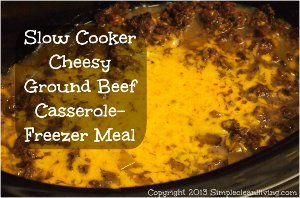All Day Cheesy Ground Beef and Potato Casserole