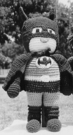 Caped Crusader Doll
