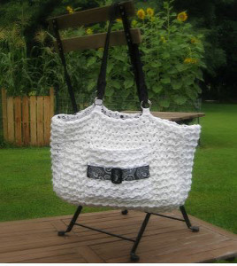 Large Buckle Tote