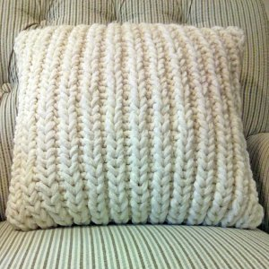 Fisherman Ribbed Pillow