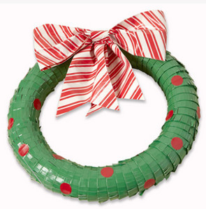 Duck Tape Wreath