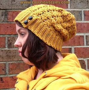 51a2d539f04 Solid Crochet Slouchy Beanie Patterns