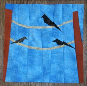 Birds On A Wire Block Favequilts Com