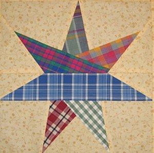 7 Pointed Star Block Pattern