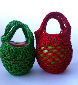Mini Crochet Gift Bag
