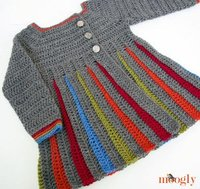 17 Free Crochet Sweater Patterns for Children