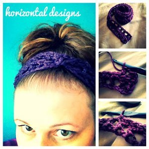 10-Minute Crocheted Headband