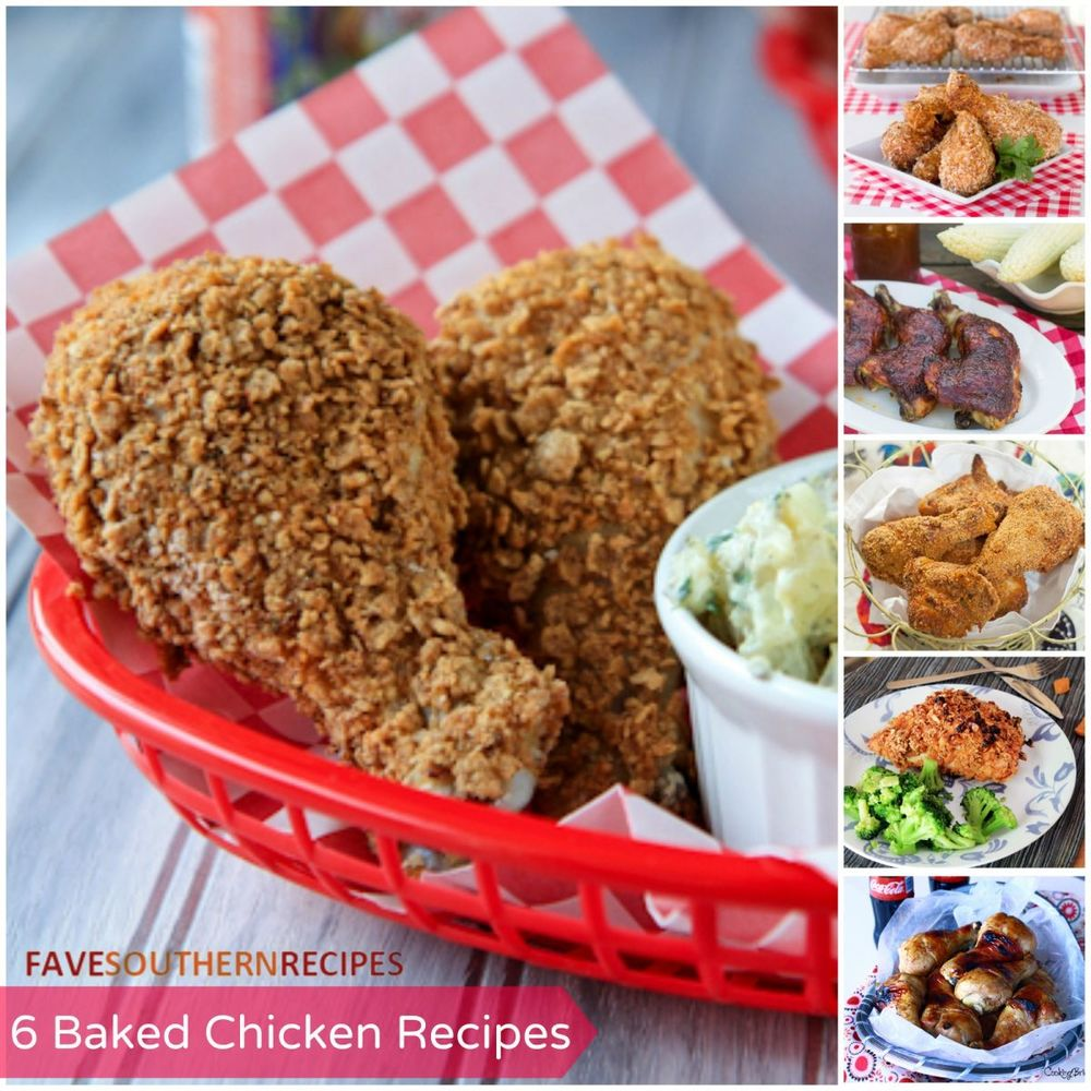 Healthy Meal Ideas: 6 Baked Chicken Recipes