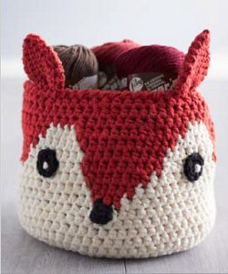 Foxy Yarn Basket