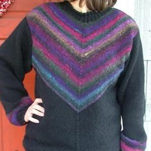 Lucky Chevron Sweater