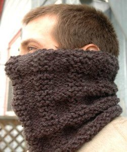 Free Knitting Patterns For Men s Cowls : Maplewood Cowl AllFreeKnitting.com