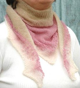 Dreamsicle Lace Scarf