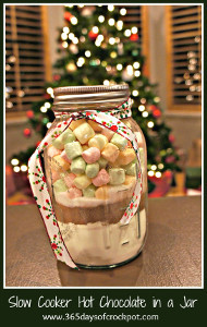 Giftable Hot Chocolate in a Jar