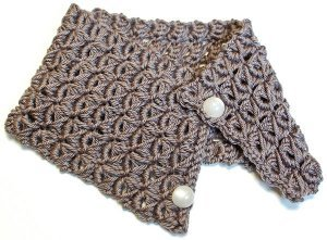 Beautiful Broomstick Lace Cowl