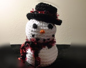 Frosty the Crocheted Snowman