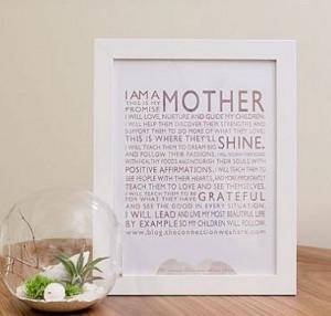 Mother's Manifesto