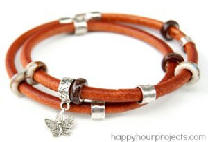 Quick and Easy Leather Bracelet