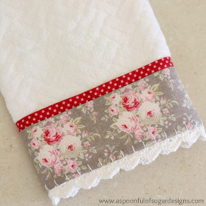 Towel craft ideas, How to make a tea towel, How to make dish