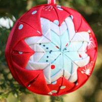 Holiday Folded Star Ornament