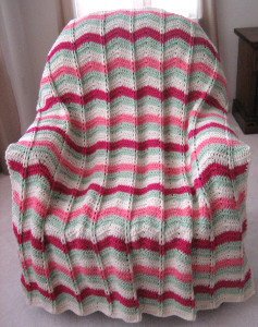 Watermelon Mojito Ripple Throw