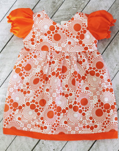 Puff Sleeve Toddler Dress