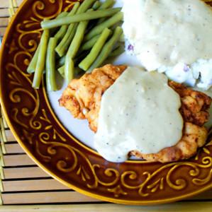 Chicken Fried Chicken with Pan Gravy