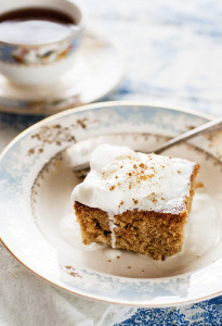 Jolly Gingerbread Coffee Cake