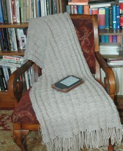 Fluted Prayer Shawl