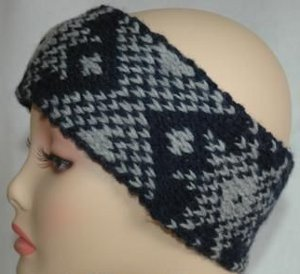 Black Ice Ear Warmer