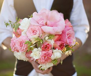Breathtaking Pink DIY Bouquet