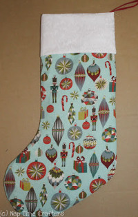 Fat Quarter Christmas Stocking