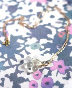 Frosty Drop Necklace