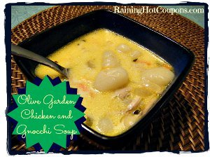 Olive Garden Chicken And Gnocchi Copycat Soup