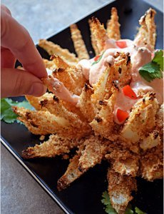 Irrisistible Baked Bloomin' Onion Knockoff