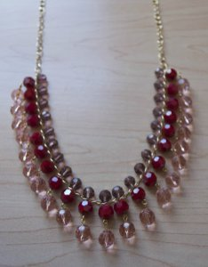 Sweetheart Beaded Necklace Pattern