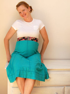Maternity Empire Skirt