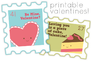 Stamps of Love Valentines