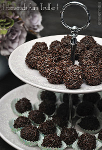 4-Ingredient Chocolate Rum Truffles