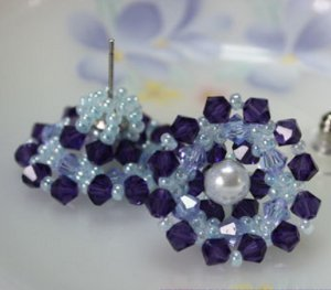 Stunning Snowflake Earrings
