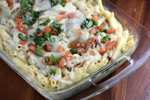 Applebee's Three Cheese Chicken Penne Copycat