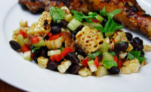 Grilled Corn and Black Bean Salad