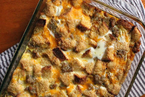 Southern Overnight Breakfast Bake