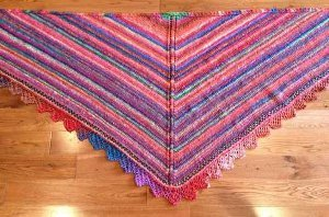 Attic Magic Shawl