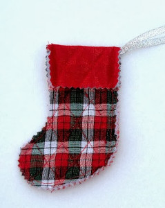 Traditional European Stocking Ornament