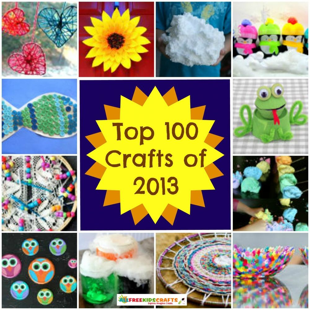 100 craft ideas for kids art project ideas recycled crafts for kids and more fun crafts. Black Bedroom Furniture Sets. Home Design Ideas