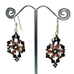 Vivacious Victorian Earrings
